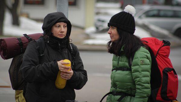 Туристы в Латвии - Sputnik Латвия