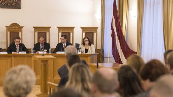 Конституционный суд в Риге - Sputnik Latvija