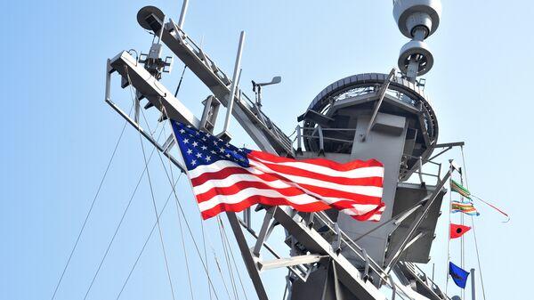 ASV eskadras mīnu kuģis Donald Cook - Sputnik Latvija