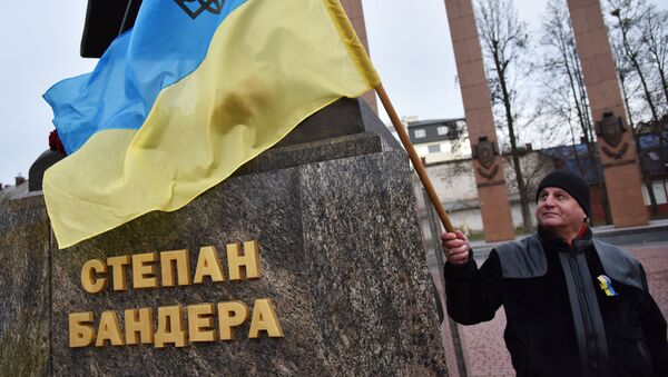Марш националистов на Украине - Sputnik Latvija