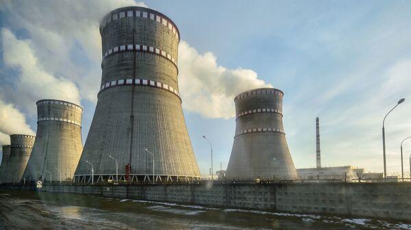Ровенская атомная электростанция в Кузнецовске. - Sputnik Latvija