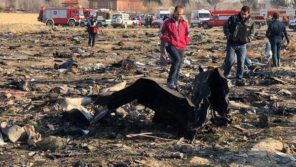 Крушение украинского самолета в Иране - Sputnik Латвия