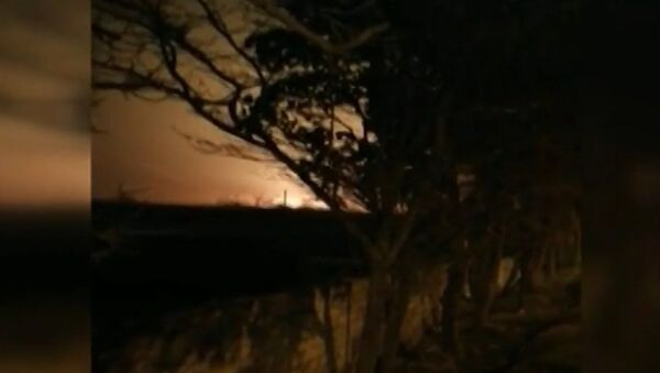 Крушение и взрыв украинского пассажирского самолета в аэропорту Тегерана - Sputnik Latvija