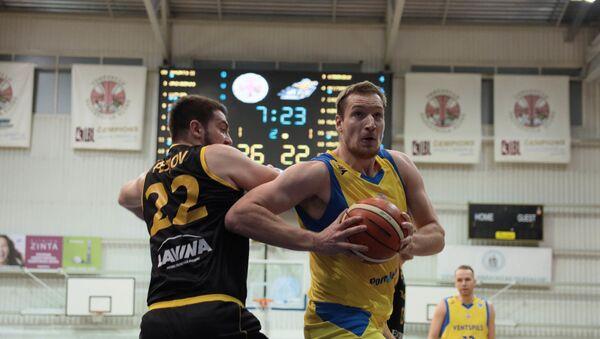 Киев Багатскиса нанес Вентспилсу первое поражение в Кубке Европы. - Sputnik Латвия