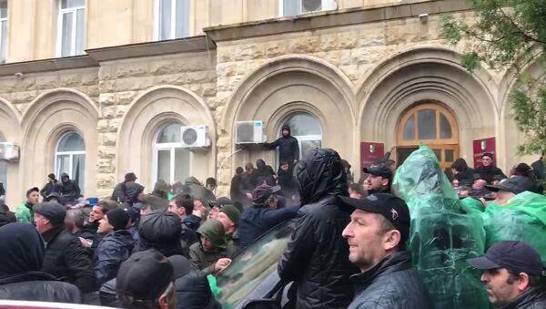 Протесты в Абхазии - Sputnik Латвия