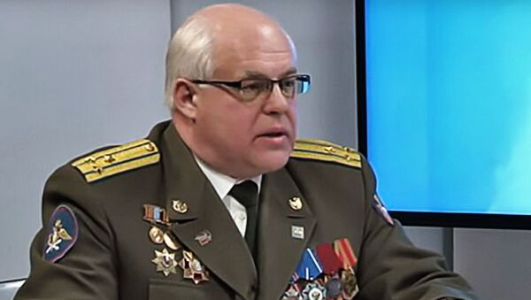 Сергей Хатылев - военный эксперт, начальник зенитно-ракетных войск Командования специального назначения ВВС России в 2007-2009 годах - Sputnik Латвия