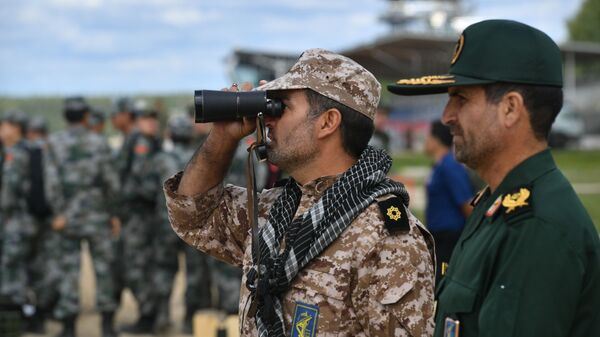 Военнослужащие армии Ирана, архивное фото - Sputnik Латвия