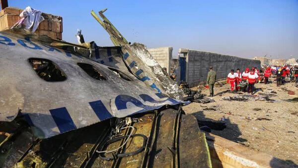 Украинский пассажирский самолет потерпел крушение в Иране - Sputnik Латвия