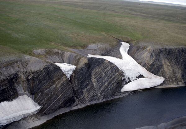 Река в каньонах на полуострове Таймыр - Sputnik Латвия