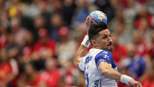 Игрок сборной Исландии по гандболу Александр Петерссон - Sputnik Латвия