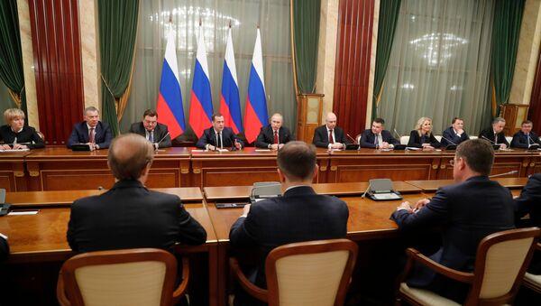 Правительство России уходит в отставку - Sputnik Латвия