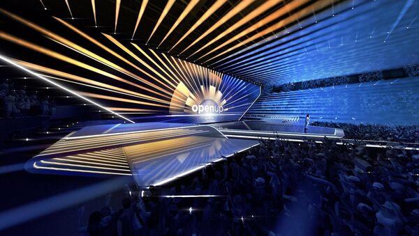 Eurovision 2020 stage design. - Sputnik Latvija