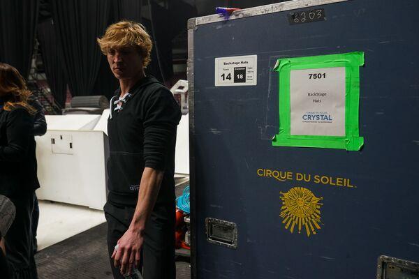 За кулисами шоу Кристалл Cirque du Soleil. - Sputnik Латвия