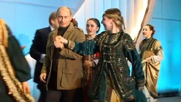 Кремль показал другого Путина: кадры съемки личных операторов - Sputnik Латвия