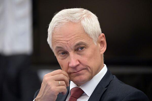 Помощник президента РФ Андрей Белоусов - Sputnik Латвия