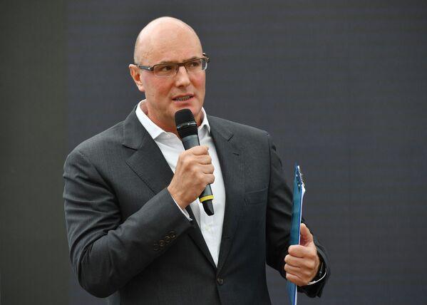 Генеральный директор, член совета директоров АО «Газпром-медиа Холдинг» Дмитрий Чернышенко - Sputnik Латвия