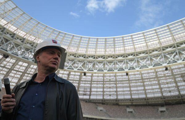 Заместитель мэра Москвы в правительстве Москвы по вопросам градостроительной политики и строительства Марат Хуснуллин - Sputnik Латвия