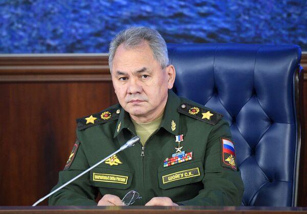 Министр обороны РФ, генерал армии Сергей Шойгу - Sputnik Латвия