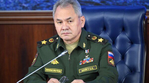 Министр обороны РФ, генерал армии Сергей Шойгу - Sputnik Latvija