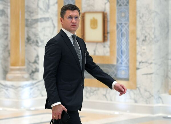 Министр энергетики РФ Александр Новак - Sputnik Латвия