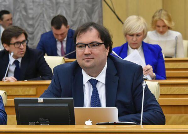 Министр цифрового развития Максут Шадаев - Sputnik Латвия