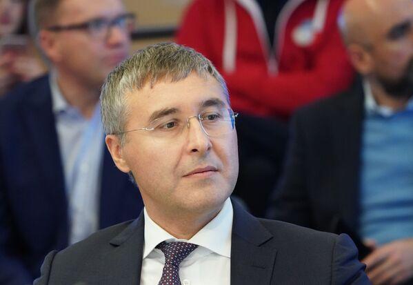 Ректор Тюменского государственного университета Валерий Фальков на пресс-конференции в МИА Россия сегодня - Sputnik Латвия