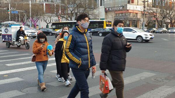 Распространение коронавируса нового типа в Китае - Sputnik Латвия