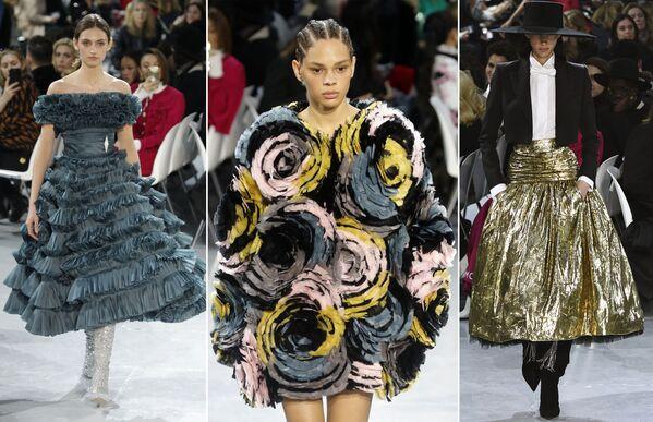 Неделя моды в Париже Haute Couture: Alexandre Vauthier - Sputnik Латвия