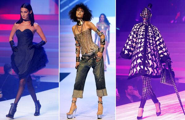 Неделя моды в Париже Haute Couture: Jean Paul Gaultier - Sputnik Латвия