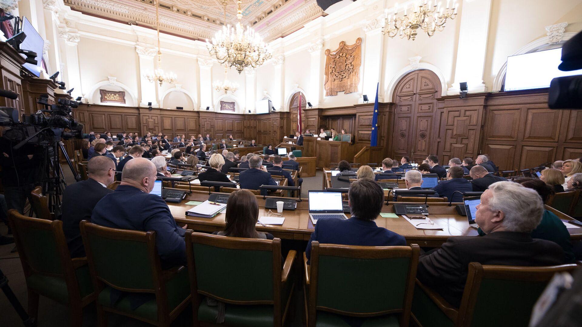 Внешнеполитические дебаты в Сейме - Sputnik Латвия, 1920, 13.10.2021