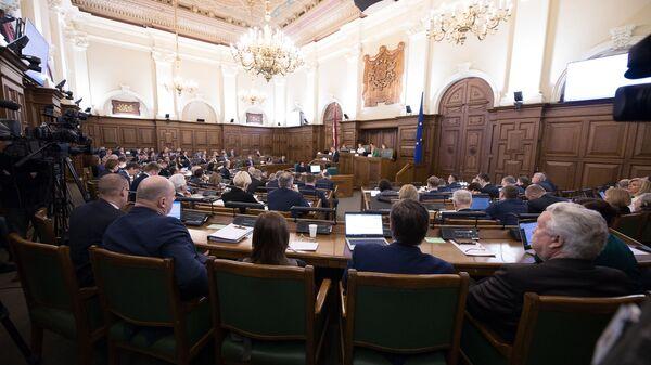 Внешнеполитические дебаты в Сейме - Sputnik Латвия
