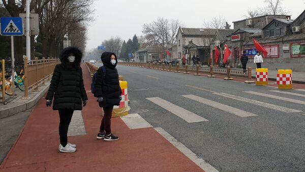 Коронавирус в Китае - Sputnik Latvija