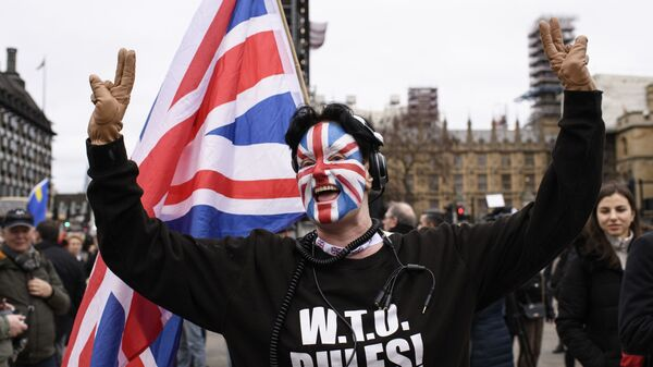 Великобритания вышла из ЕС - Sputnik Latvija