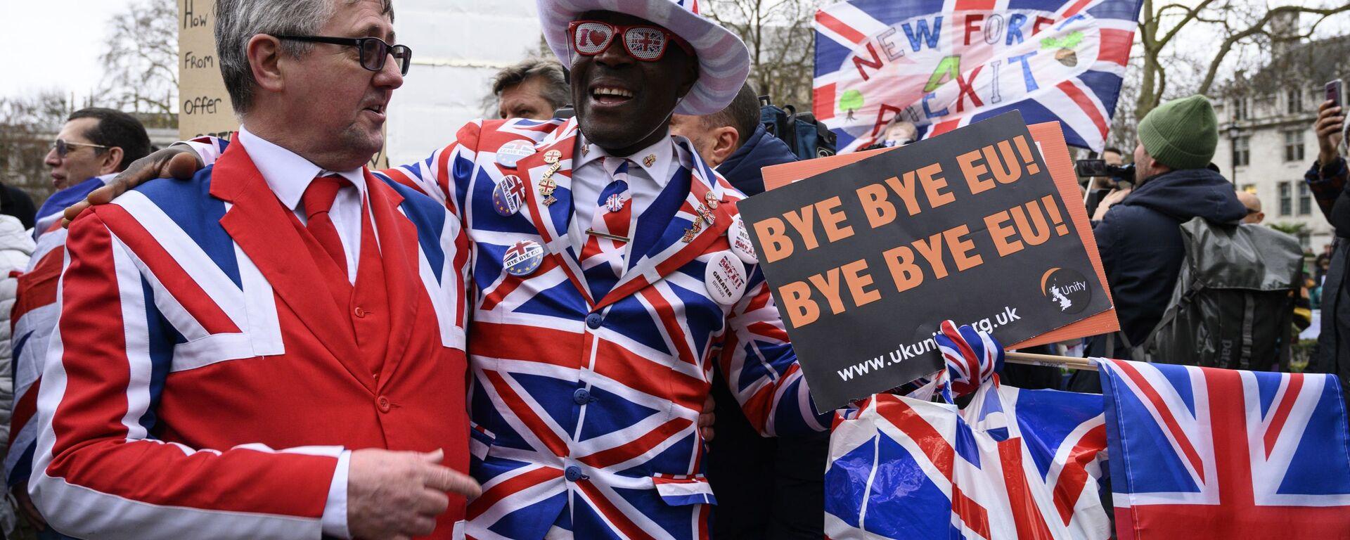 Великобритания вышла из ЕС - Sputnik Latvija, 1920, 03.02.2020