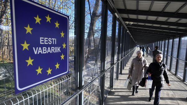 Граница РФ и Эстонии, архивное фото - Sputnik Latvija