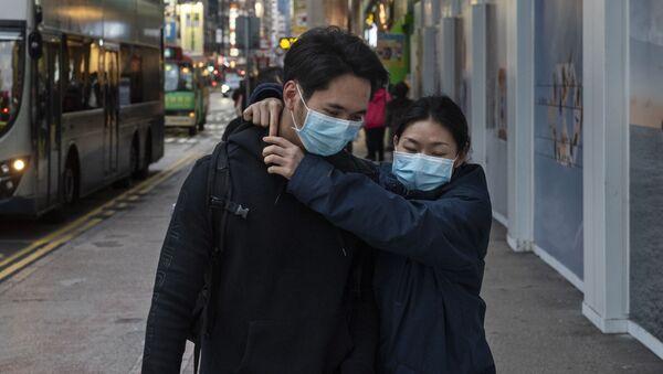 Ситуация в Гонконге в связи с коронавирусом - Sputnik Latvija