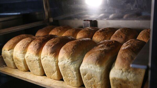 Хлеб, испеченный на Арктической военной полевой кухня - Sputnik Латвия