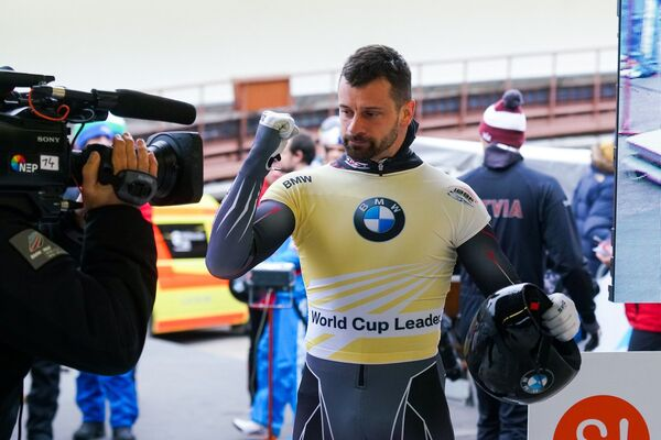 Мартинс Дукурс чемпион Кубка мира по скелетону - 2019/2020 - Sputnik Латвия