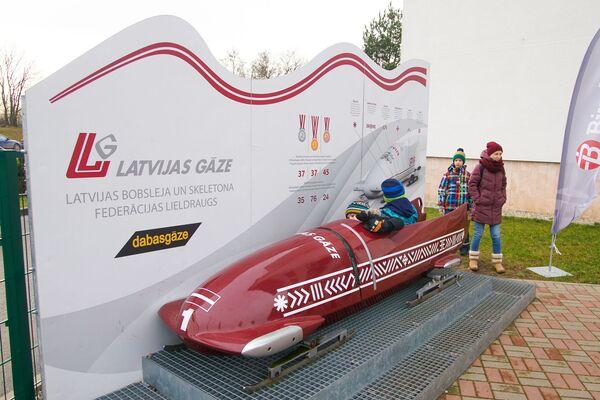 Санно-бобслейная трасса в Сигулде - Sputnik Латвия