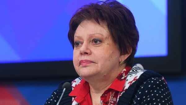 Директор Института исследований международных экономических отношений Финансового университета при правительстве РФ Виктория Перская - Sputnik Латвия