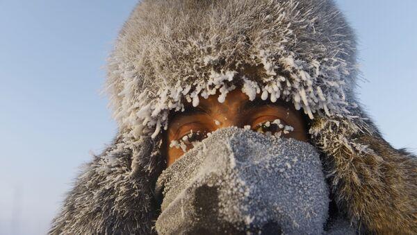 Сильные морозы в Якутии - Sputnik Latvija