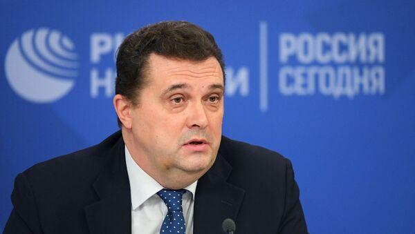Председатель Союза журналистов России Владимир Соловьев - Sputnik Латвия