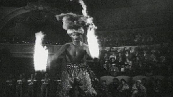 Цирковое представление начала ХХ столетия - Sputnik Латвия