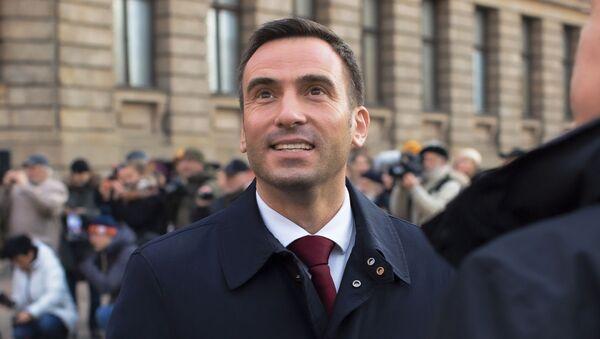 Кандидат в мэры Риги Мартиньш Стакис - Sputnik Латвия