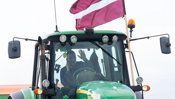 Акция протеста против административно-территориальной реформы 5 марта 2020 года - Sputnik Латвия