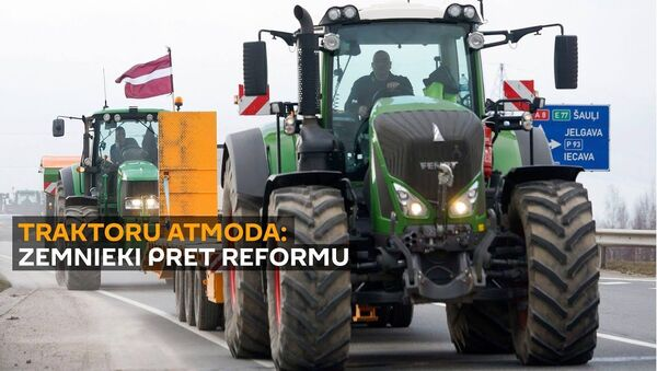 Mierīgie iedzīvotāji un buldozeri: kā zemnieki protestēja pret novadu reformu  - Sputnik Latvija