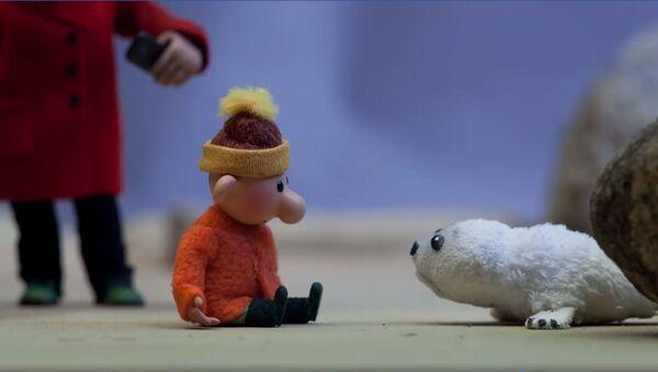Мультфильм о судьбе тюленят - Sputnik Latvija