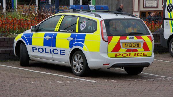 Британский полицейский автомобиль - Sputnik Латвия