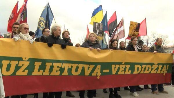 Литва отметила 30-летие восстановления независимости - Sputnik Latvija