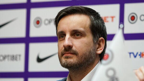 Генеральный секретарь Латвийской футбольной федерации Эдгарс Пукинскис - Sputnik Латвия